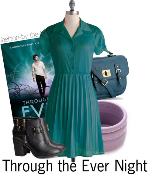 Fashion By The Book Through the Ever Night Under the Never Sky Veronica Rossi